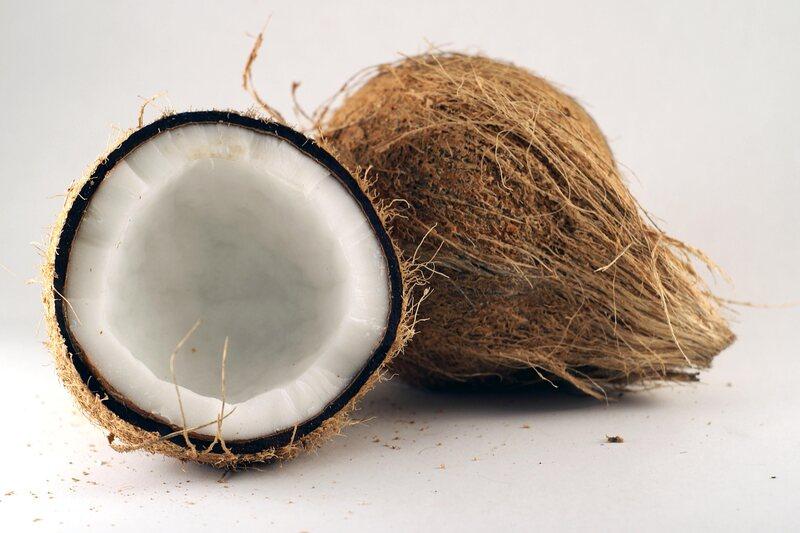 A coconut, hopefully not cursed.