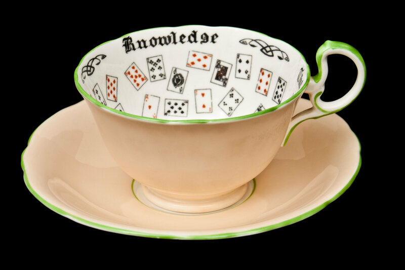 These Fortune Telling Tea Cups Made Divination Easy Gastro Obscura