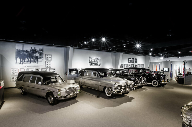 As the 20th century wore on, hearses got slicker, sleeker, and much more covered in chrome.