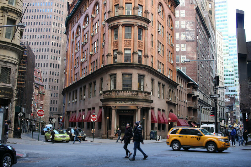 Delmonico's still exists, though it's no longer owned by the Delmonico family.