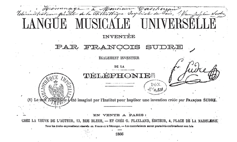 A Reprise for a 19th-Century Language Based on Music - Atlas Obscura
