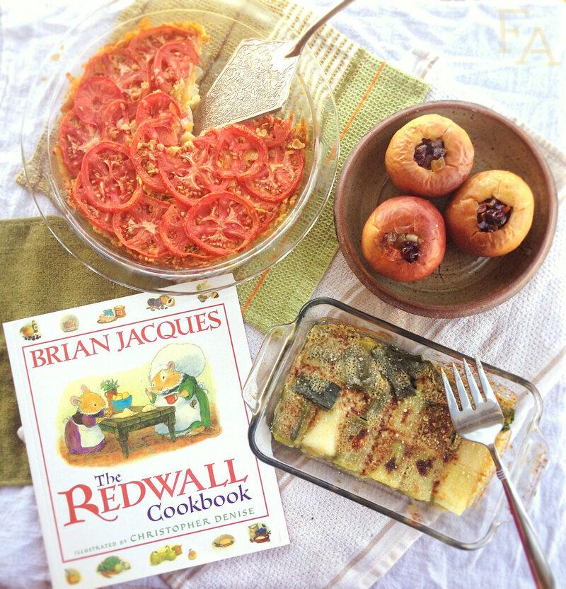 A Mini Springtide Sunfeast from <em>The Redwall Cookbook</em>.