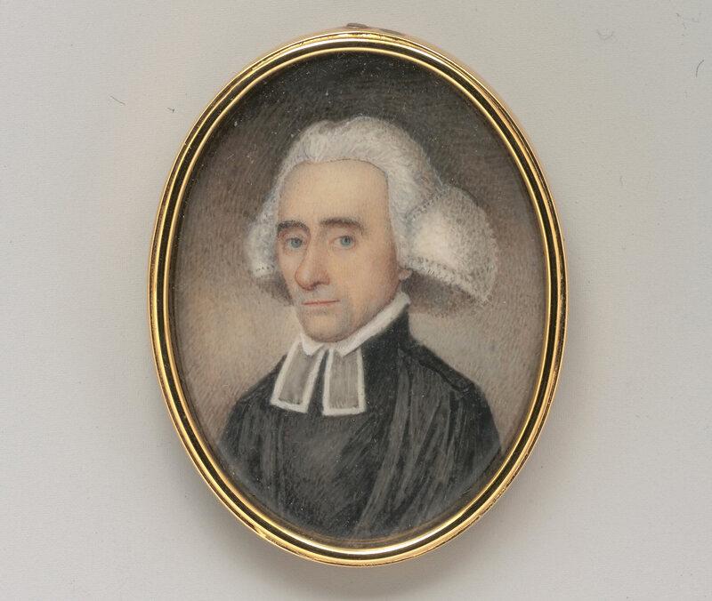 Ezra Stiles, 1770.
