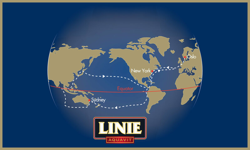 The journey of a single Linie bottle.