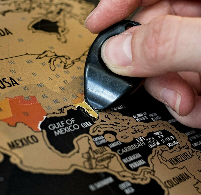 Wishlist A Scratch Off World Map Poster Atlas Obscura