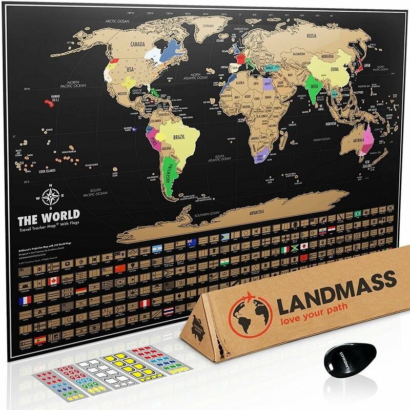 Wishlist a scratch off world map poster atlas obscura landmass goods publicscrutiny Image collections