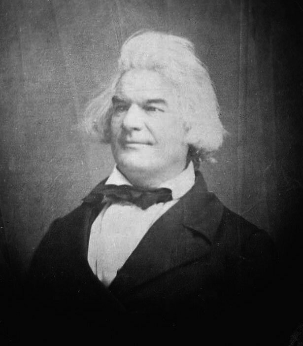 South Carolina senator Andrew Butler, the target of Sumner's attack and the inspiration for Brooks's.