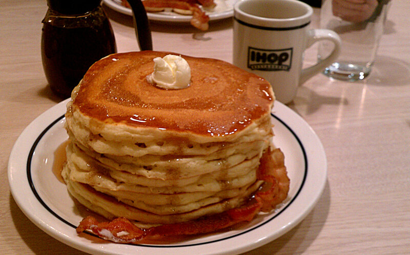 A Sweet Stack Of IHOP Pancakes