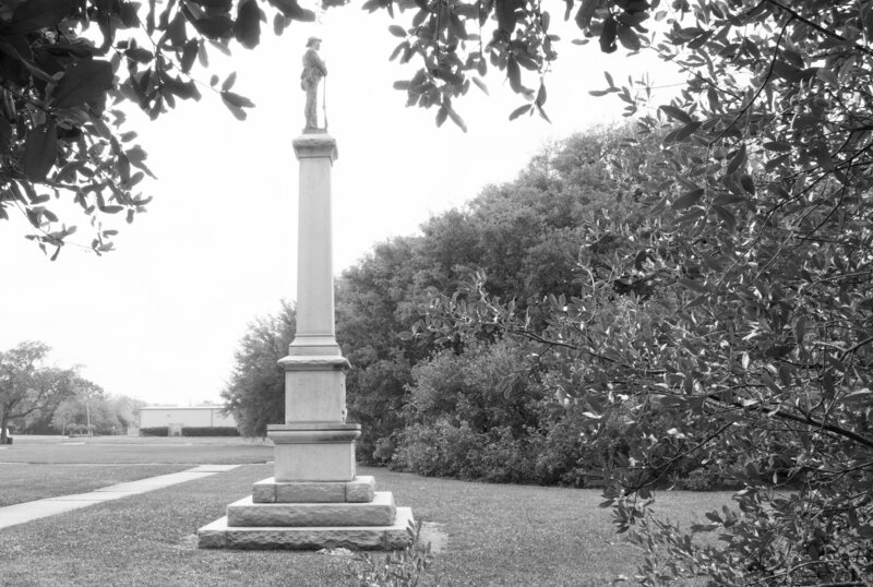 A Confederate monument in Beaumont, Texas. By the SPLC's count, Texas has removed 31 Confederate symbols in the past three years, more than any other state.