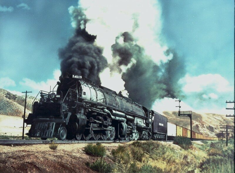 One of the World's Largest Steam Locomotives Is About to Make a Triumphant Return