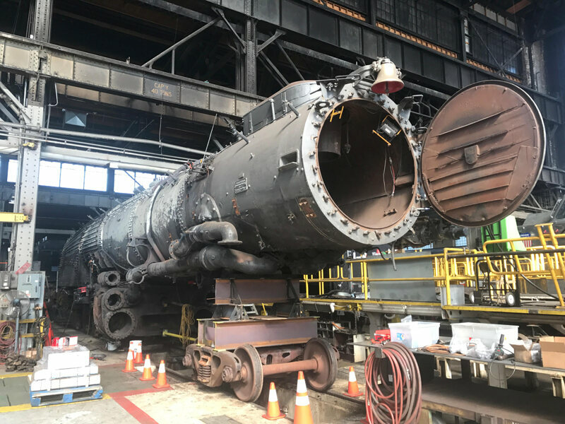 One of the World's Largest Steam Locomotives Is About to
