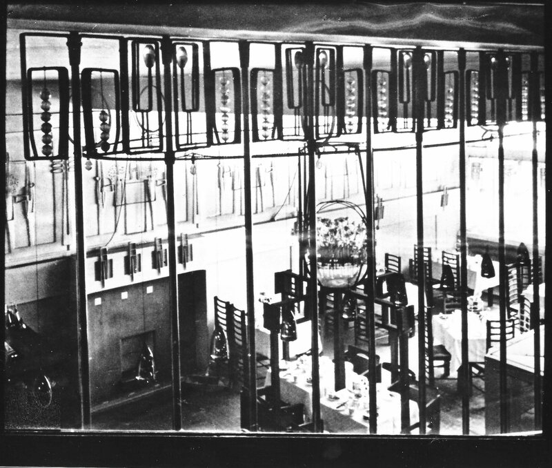 An Early Photo Of The Interior.