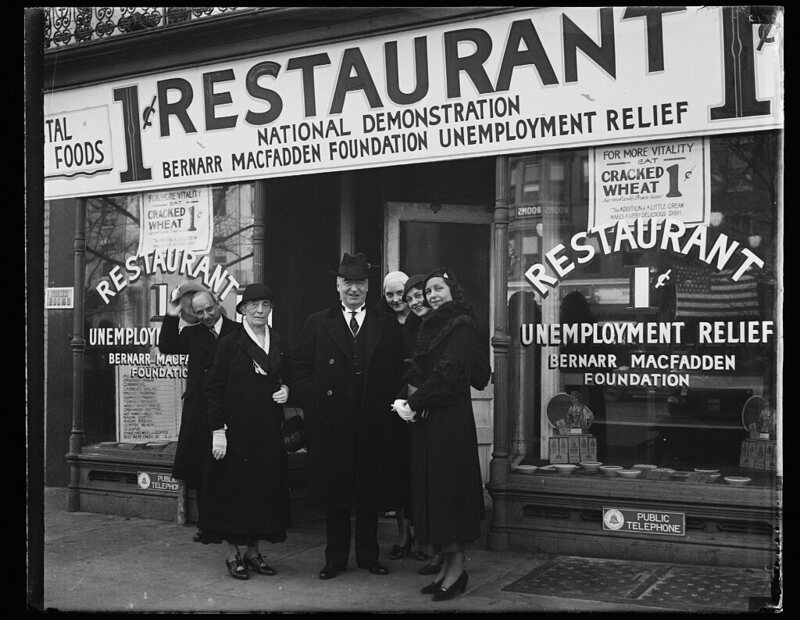 During the Great Depression, 'Penny Restaurants' Fed the Unemployed