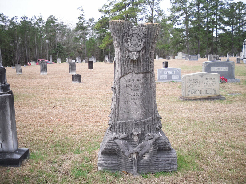 Why Some Gravestones Are Shaped Like Tree Stumps