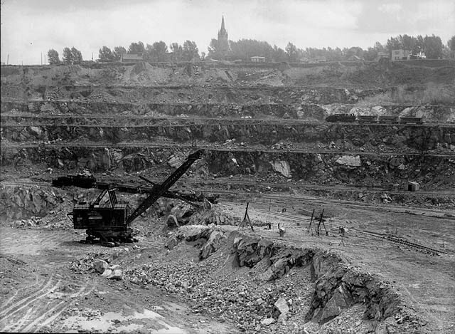 The Jeffrey Mine in the 1940s.