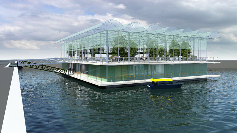 all aboard the world s first floating dairy farm gastro obscura