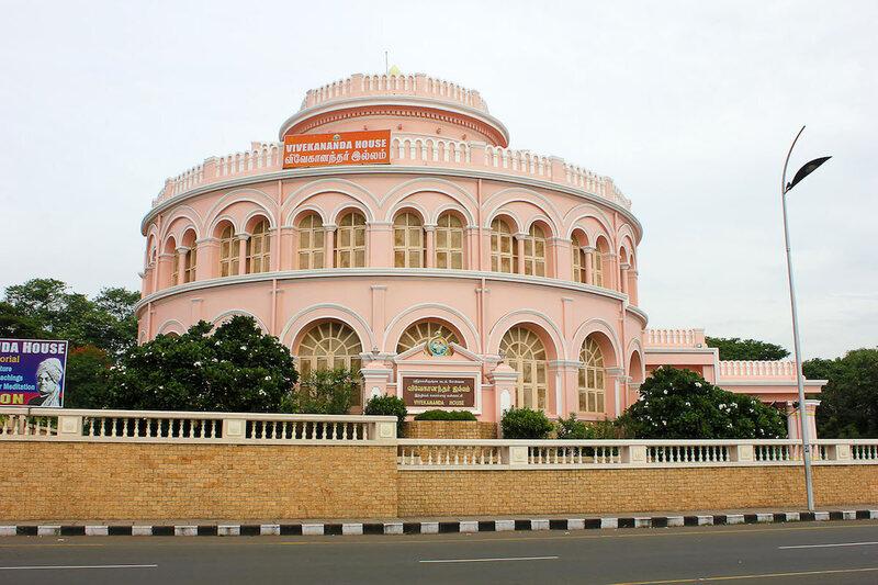 Vivekananda House, built for ice storage, in Chennai, India.