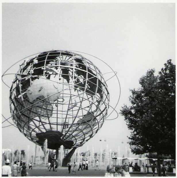 Unisphere at the 1964-1965 New York World's Fair.