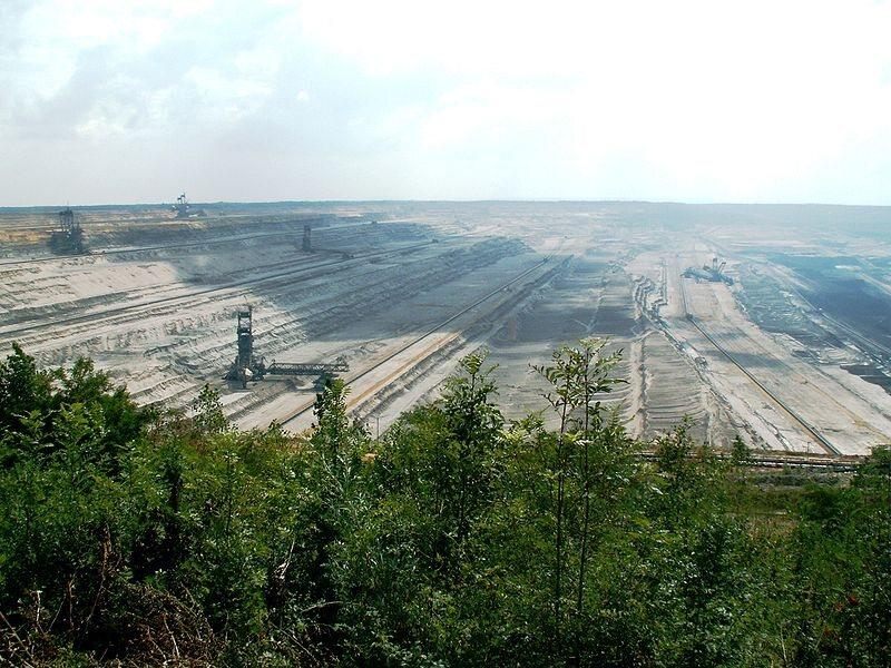 The Hambach lignite mine.