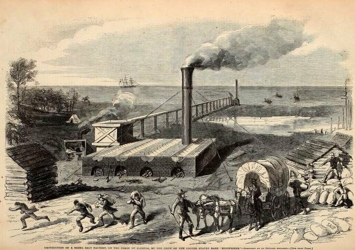 How Salt Helped Win the Civil War - Gastro Obscura