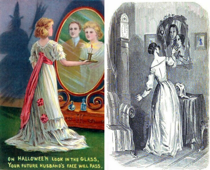 Halloween was once the time for romantic spells.