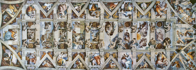 A Detail You May Not Have Noticed in Michelangelo's Sistine Chapel Fresco
