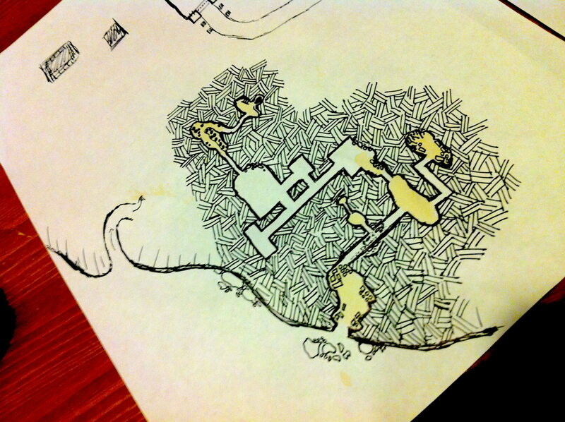 Show Us Your Greatest Dungeons & Dragons Map