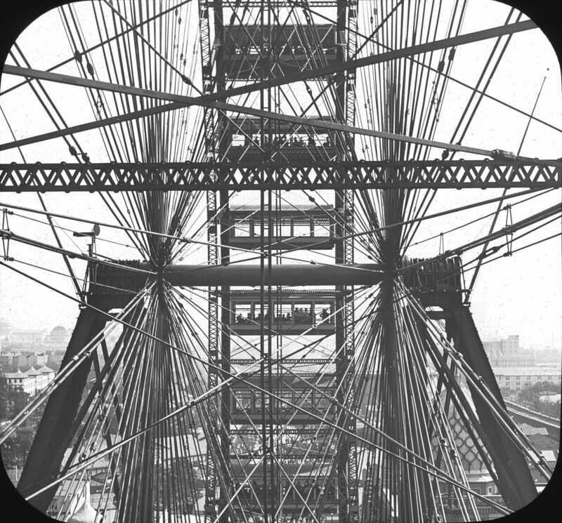 Chicago World's Fair Columbian Exposition Ferris Wheel
