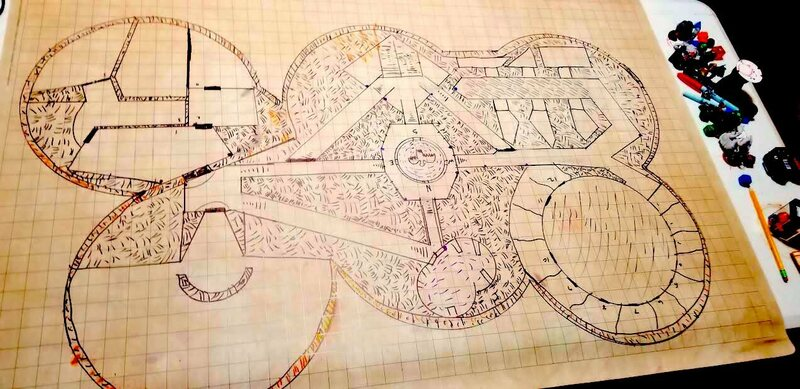 Dungeons And Dragons Maps 24 Amazing, Homemade Dungeons & Dragons Maps   Atlas Obscura