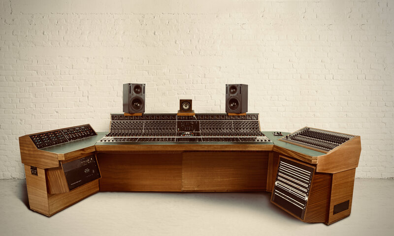 For Sale: A Wood-Paneled Console That Helped Shape Classic Rock