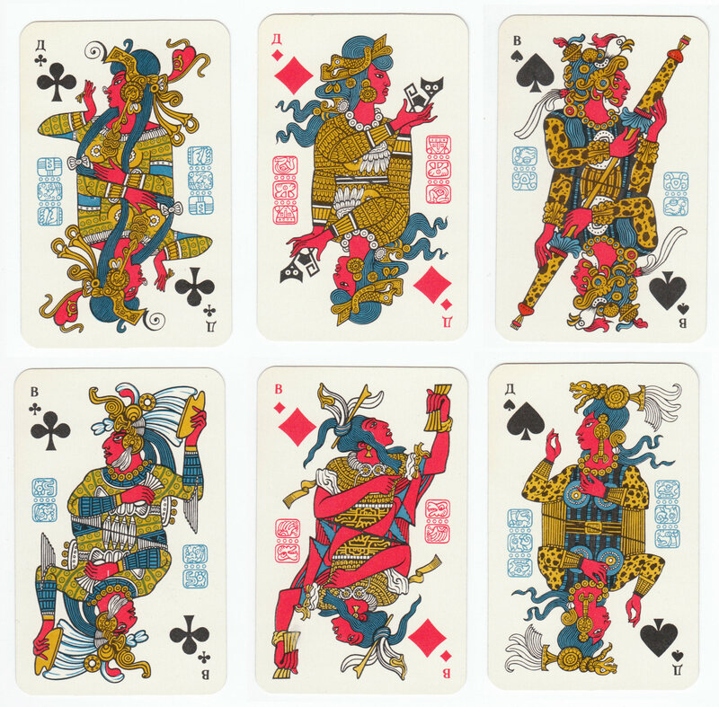Why Soviet Russia Created Mayan Playing Cards Atlas Obscura