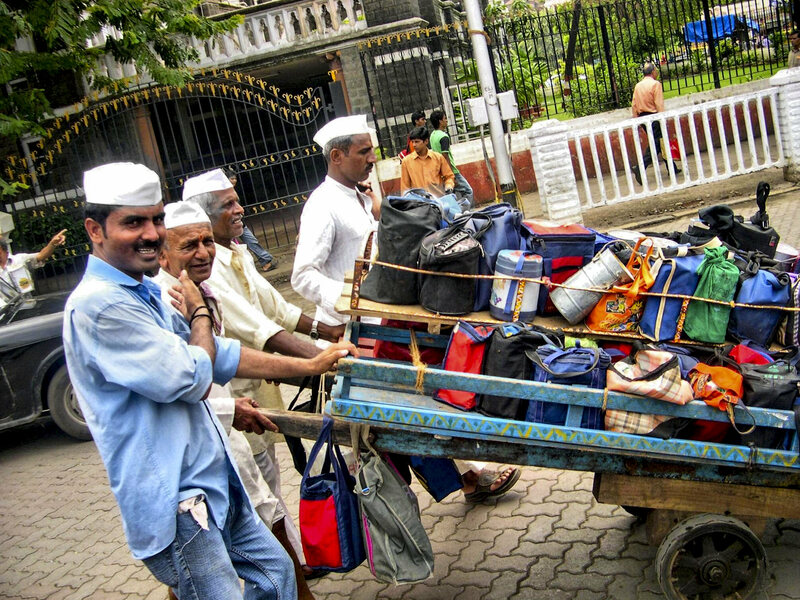 How Mumbai's Dabbawalas Deliver 200,000 Homemade Meals a Day - Gastro Obscura