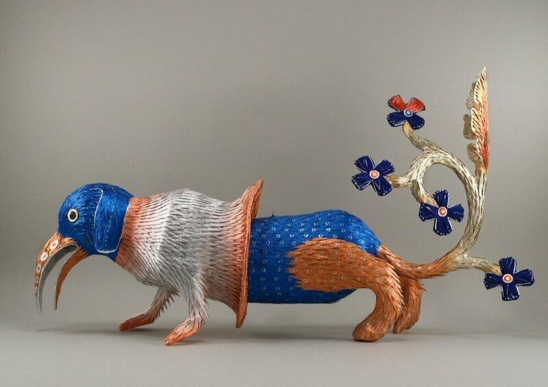 These Colorful Piñatas Bring Medieval Monsters to Life