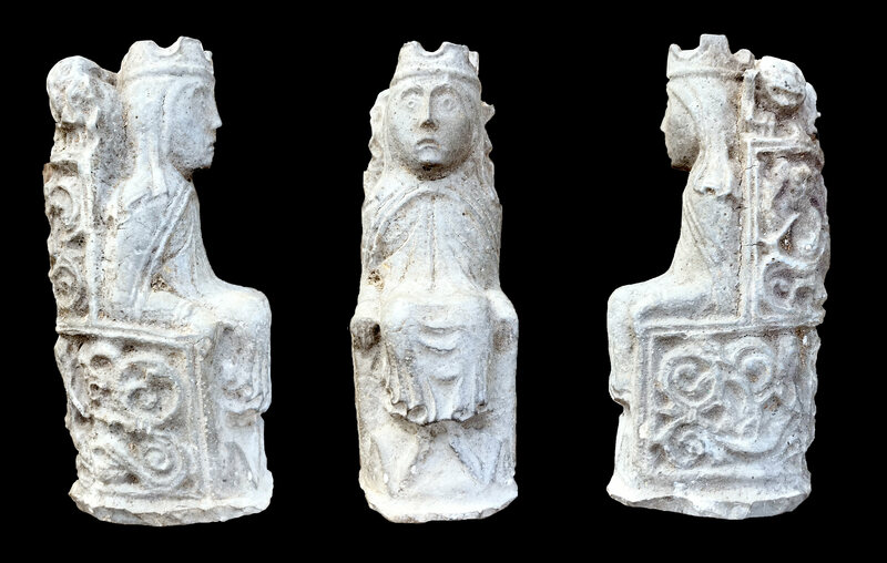 Found: Chess Pieces Hidden in a Barn to Ward Off Evil Spirits