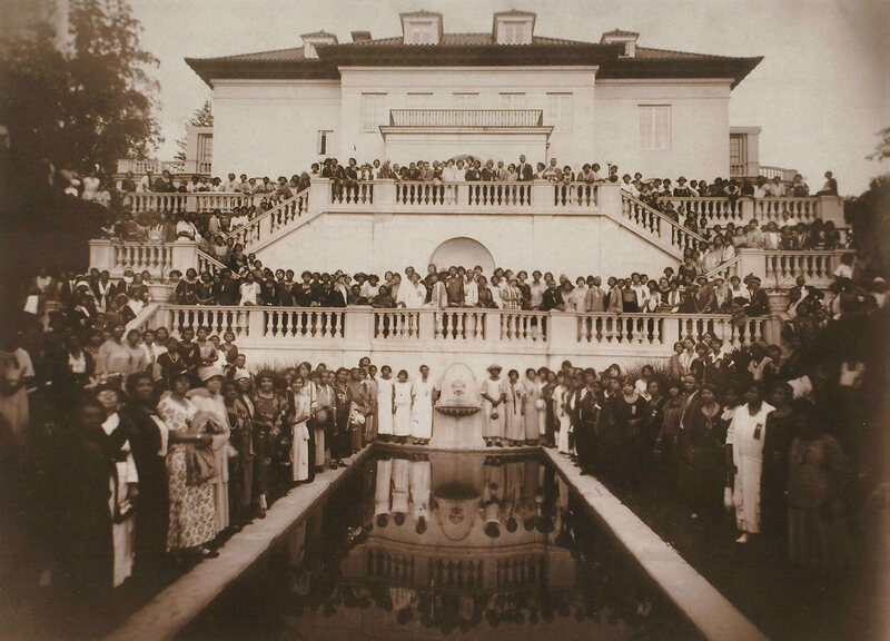 The Mansion of America's First Black Female Self-Made Millionaire ...