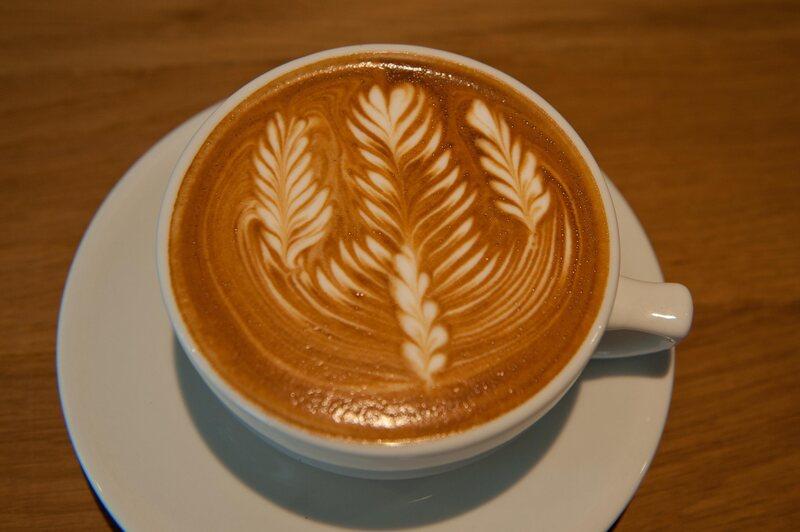 Coffee art that lasts until the last sip.
