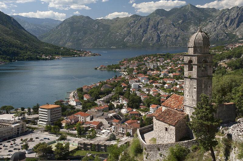 Kotor Bay, Montenegro.