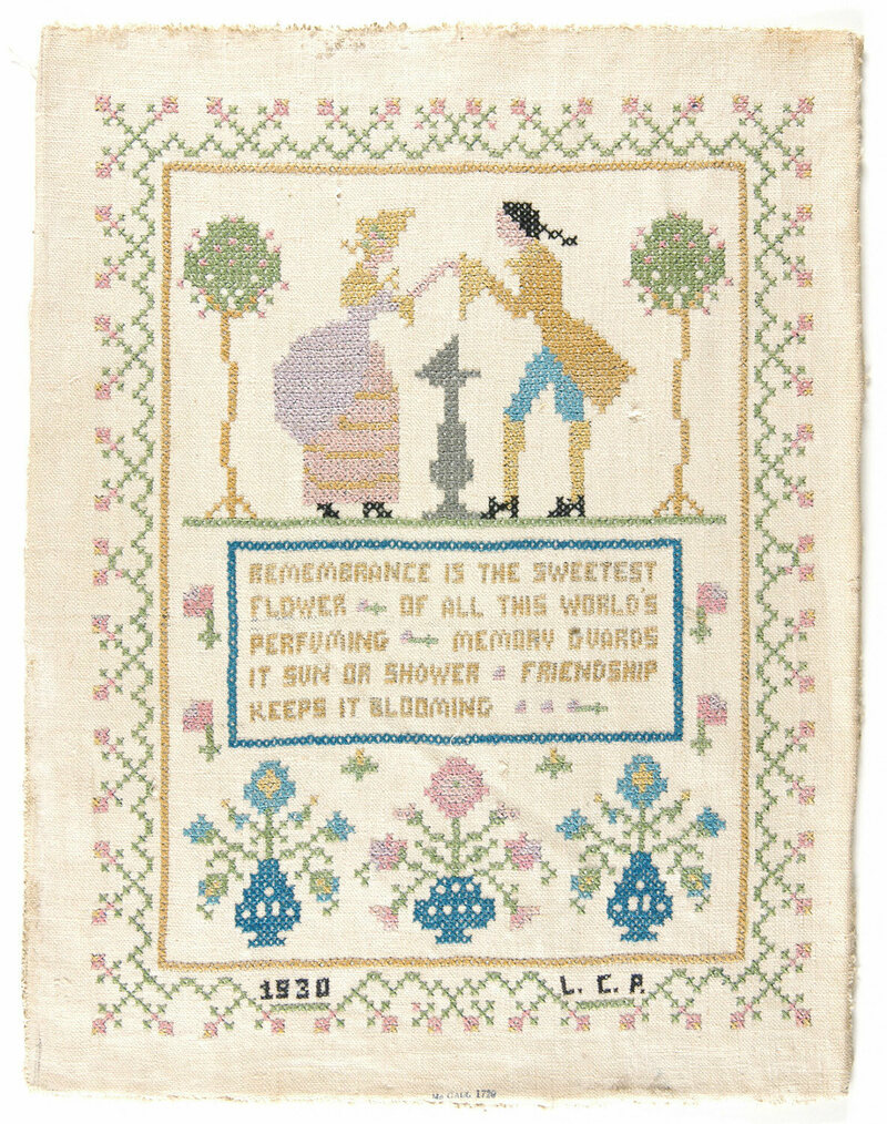 Why a Museum Owns a Chocolate Company's Embroidery Collection
