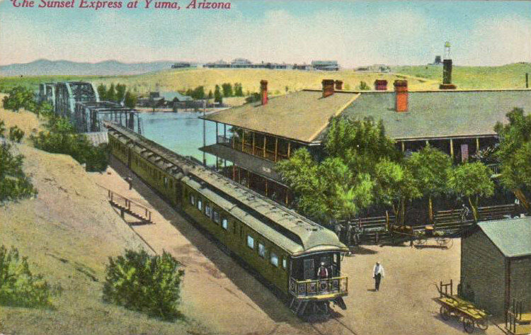 Early 20th-century postcard of the