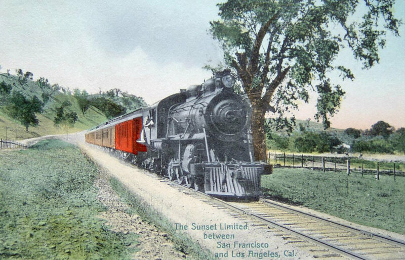 Image result for sp railroad completed route from new orleans to california in 1883