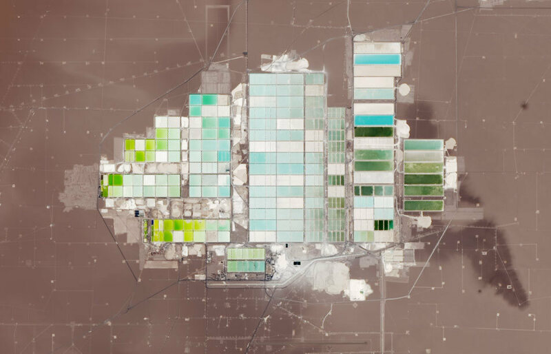 See the Pixelated Desert That Powers Your Phone Battery