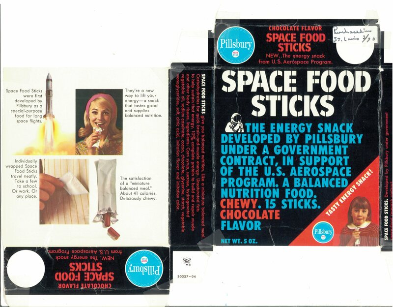 The Oddly Named Energy Bar That Rocketed To The Moon Gastro Obscura