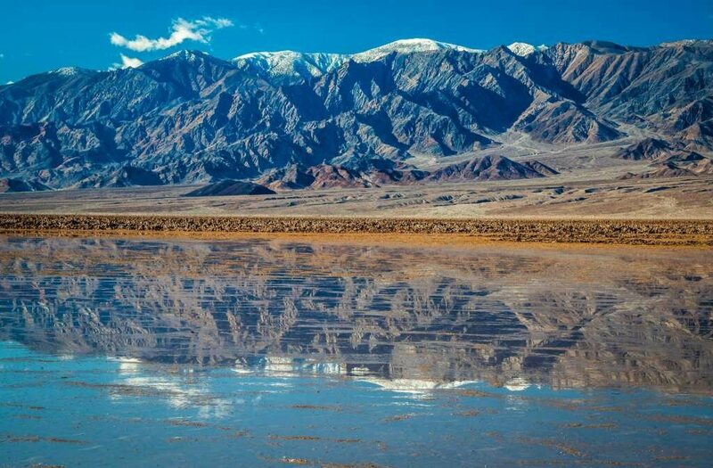 Found: A Lake in Death Valley, the Hottest and Driest of the U.S. National Parks