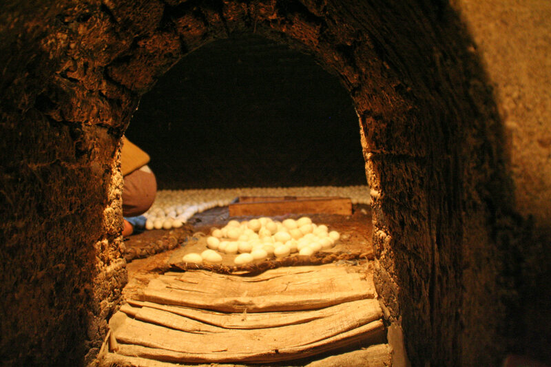 Some 200 egg ovens are still operating today.