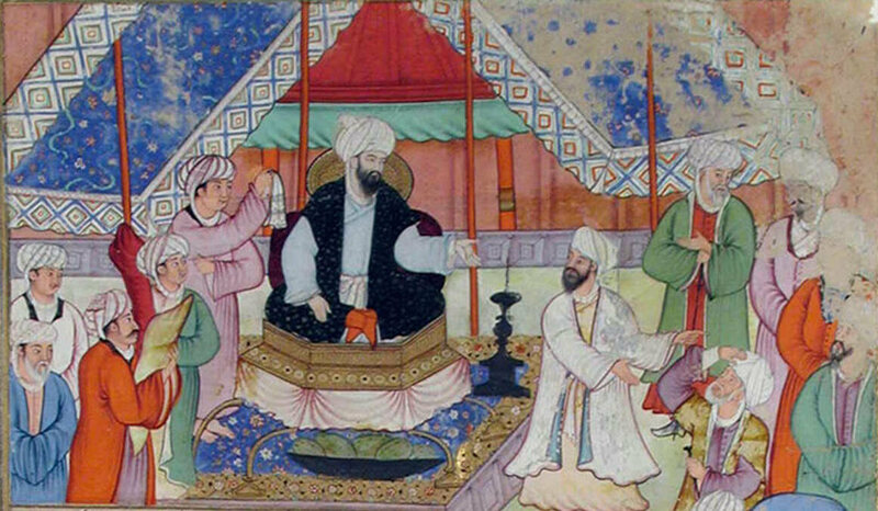 Abbasid Caliph al-Ma'mun was a renowned supporter of the sciences.