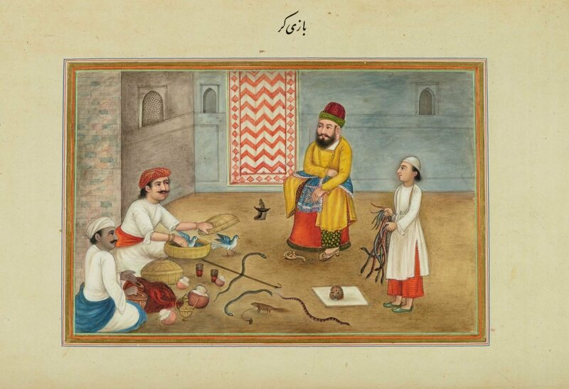 Animal handlers in the Skinner book. He would also write his autobiography in Persian.
