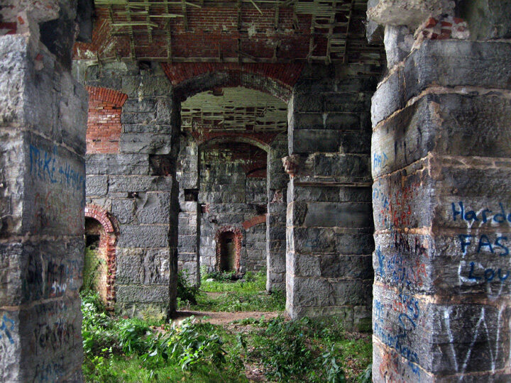 For Sale: An Abandoned, Decaying Fort on a Private Island