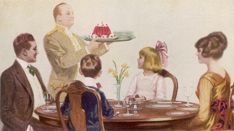 Before Jell-O, Colorful Gelatin Desserts Were Haute Cuisine