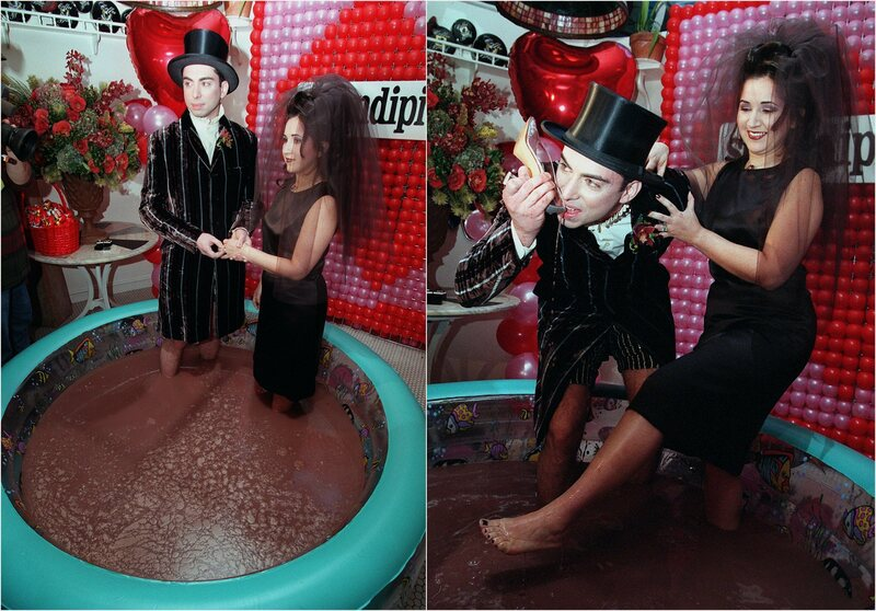This Restaurant Has Wed Six Couples in Pools of Chocolate