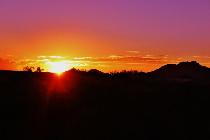 Why Desert Sunsets Are Incredibly Colorful